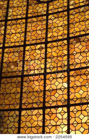 Stained Glass Window At Les Invalides
