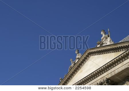Roof Of Archives Nationale, Paris, France