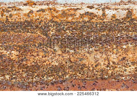 Steel Plate Rust Texture Background