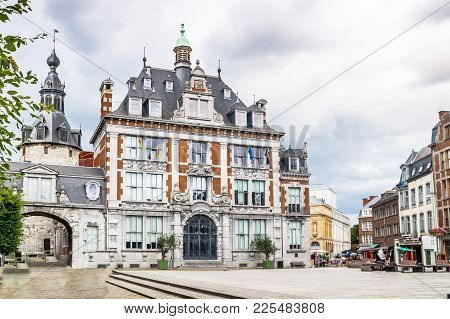 View On Congress Building In Namur - Belgium