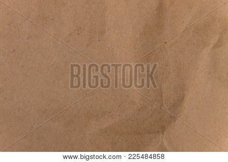 Brown Eco Paper Background. Recycled Paper Texture