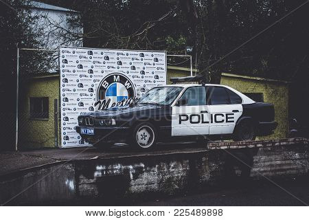 Car Bmw Police, German Bavarian Manufacturer
