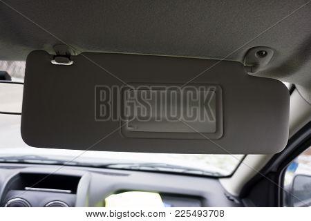 Car Sun Visor With Illuminated Mirror Vehicle
