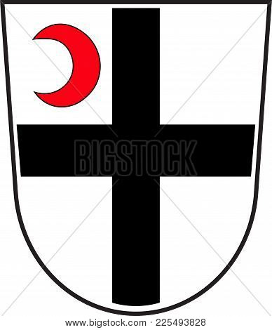 Coat Of Arms Of Attendorn Is A German Town In The Olpe District In North Rhine-westphalia, Germany.
