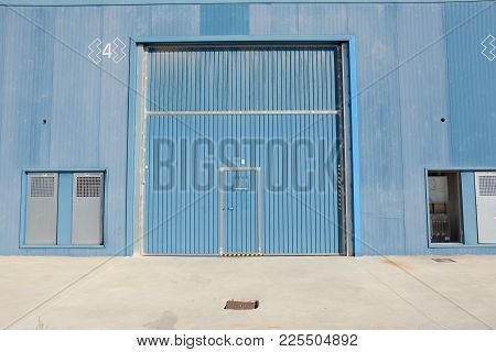 New And Modern Warehouse Building With Warehouse