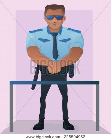 strong security guard vector photo free trial bigstock