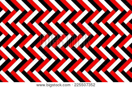 Incredible Background Made Of Lines In Strict Colors