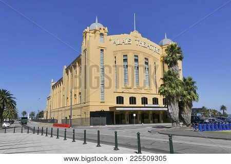 St Kilda, Australia: March 06, 2017: The Palais Theatre Is A Concert Venue And Theatre Located In Th