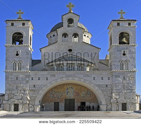Cathedral Of The Resurrection Of Christ In Podgorica, Montenegro