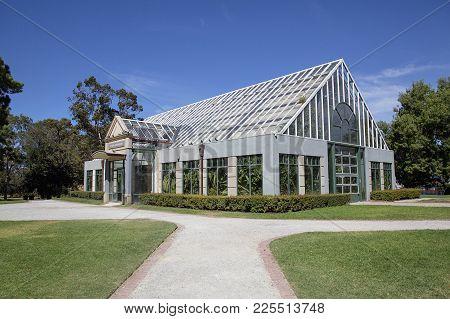 St Kilda, Melbourne, Australia: March 15, 2017: St Kilda Botanical Garden In The Suburb Of St Kilda,