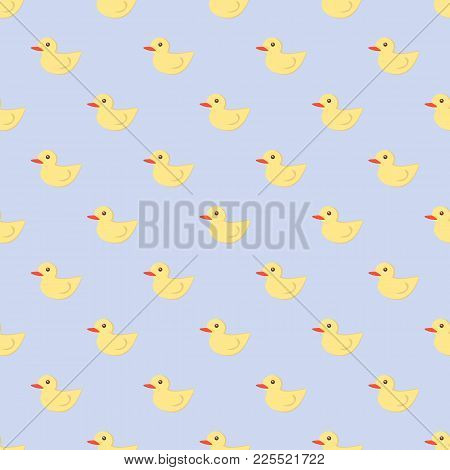 Baby Shower Toys Seamless Pattern Background Vector Cute Wallpaper Scrapbook Newborn Textile Paper I