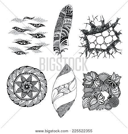 Art Elements Graphic Figures Pen Free Form