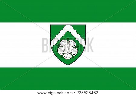 Flag Of Finnentrop Is A Gemeinde (municipality) In Olpe District In North Rhine-westphalia, Germany.