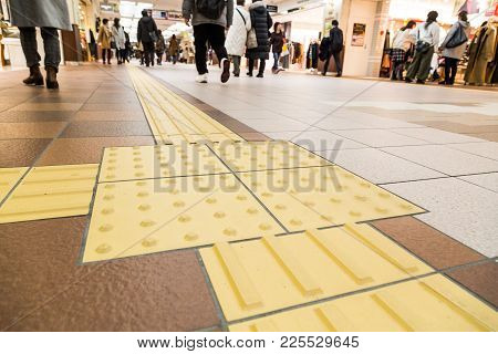 Indoor Tactile Paving Foot Path For Blind And Vision Handicap