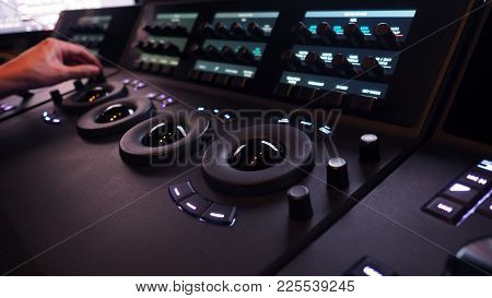 Telecine Controller Machine For Edit Color On Digital Video