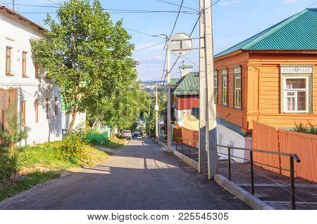 Vladimir, Russia - August 9 2017: Vladimirsky Descent Spusk