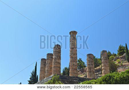 Temple of Apollo at Delphi oracle