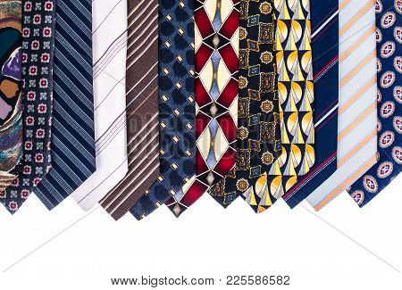 Colored Man's Neckties For The Father's Day