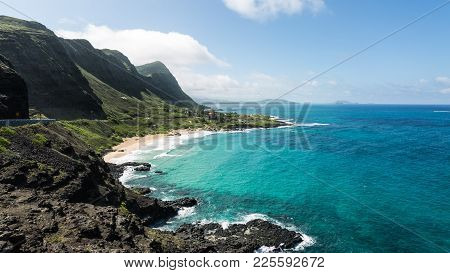 Hawaii, Beautiful Landscape  The Magic Of Hawaii Comes From The Stillness, The Sea, The Landscape