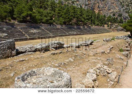 Ancient stadium of Delfi
