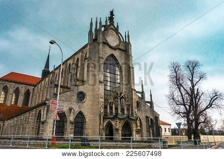 Cathedral Of The Assumption Of The Virgin Mary And Saint John The Baptist Kutna Hora Czech Republic