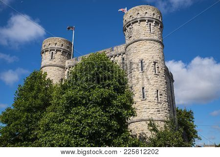 Dorchester, Uk - August 15th 2017: A View Of The Keep In Dorchester, Dorset, On 15th August 2017.  T