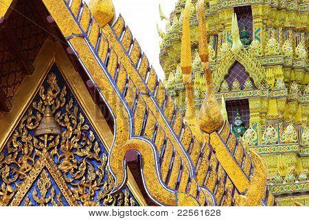 Temple, Thailand.