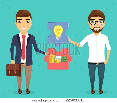 The Concept Of Financing New Projects. Support And Development Of New Ideas. Business And Finance. I
