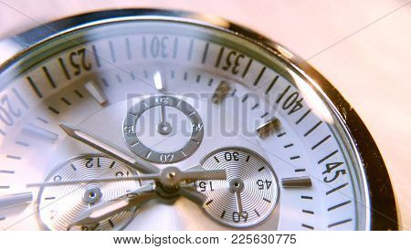 Wristwatch Quality Accurate Exacting The Right Time Just For Life Macro Photography
