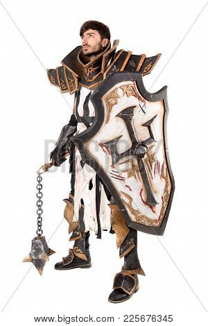Man With Knight Costume