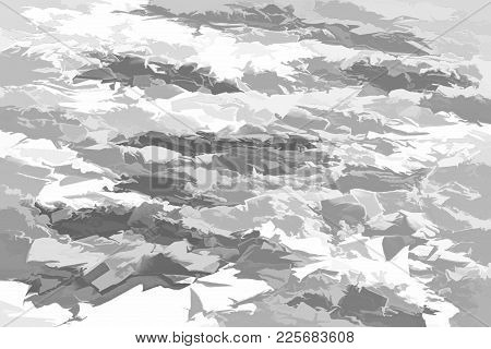 Illustration For A Background Or For Wallpaper Of The Abstract Textured Motley Pattern Or The Spotty