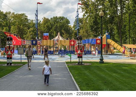 Central Park Of Culture And Leisure In Kharkov, Ukraine