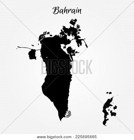 Kingdom bahrain map vector photo free trial bigstock kingdom of bahrain map regions vector illustration world map gumiabroncs Image collections