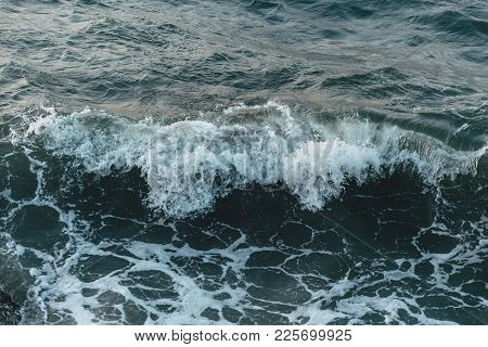 Ocean Wave Deep Blue Sea Windy Storm Season