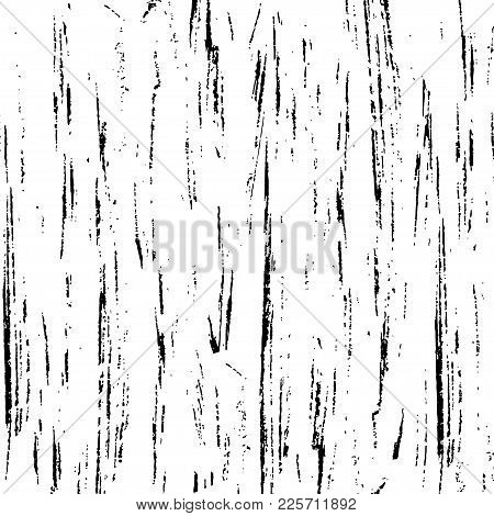 Texture Brush Stroke For Stylized Backgrounds. Color Black, White. Creative Strict Theme