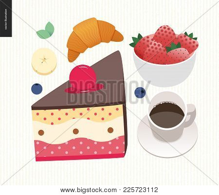 Love, Spring, Breakfast - Set Of Breakfast Meal