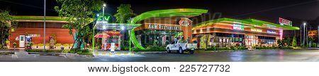 Bangkok, Thailand - February 06: Electric Vehicle Charging Station Begins 24 Hour Service At Bangcha