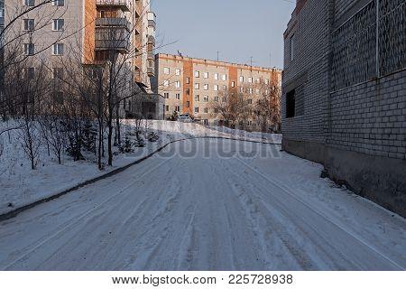Apartment Buildings. Contemporary Architecture. Multistorey Building. Apartment Block. Housing Estat