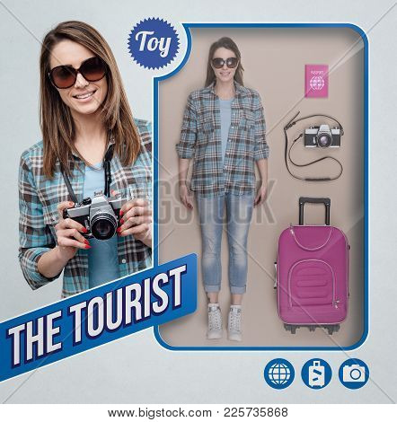 The Tourist Realistic Doll