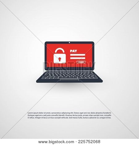 Locked Device, Encrypted Files, Lost Documents, Ransomware Attack - Virus Infection, Malware, Fraud,