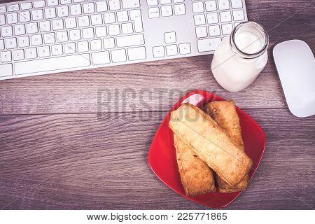 Keyboard And Breakfast