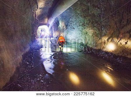 Underground Mine Work Site
