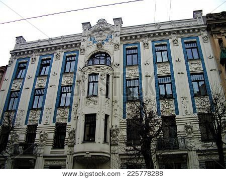 Most Beautiful Art Nouveau Residential Home In Riga, Latvia