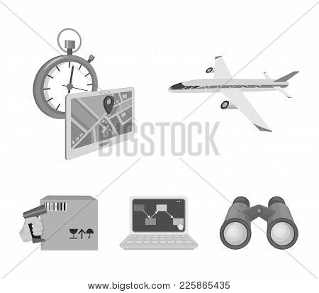 Transport Aircraft, Delivery On Time, Computer Accounting, Control And Accounting Of Goods. Logistic