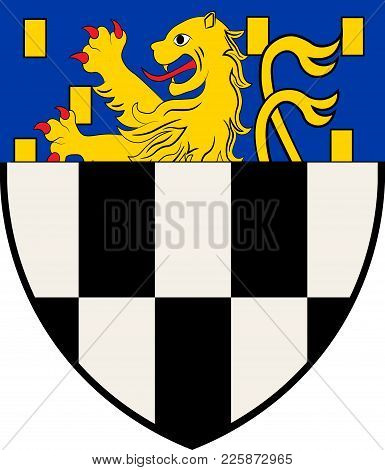 Coat Of Arms Of Wilnsdorf Is A Municipality In The District Of Siegen-wittgenstein, In North Rhine-w