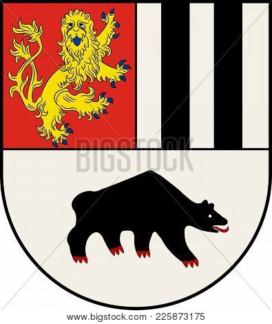 Coat Of Arms Of Bad Berleburg Is A Town, In The District Of Siegen-wittgenstein, In North Rhine-west
