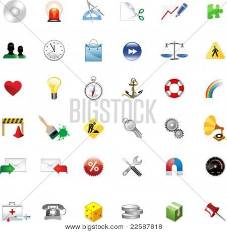 Set of icons for website, icons for network, vector illustration. See other sets in my portfolio.