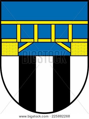 Coat Of Arms Of Erndtebrueck Is A Municipality In The Siegen-wittgenstein District, In North Rhine-w