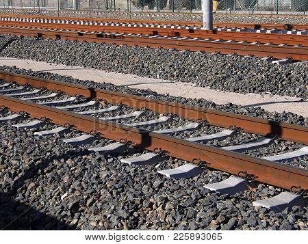 Rail, Railroad Train Rails And Rail Transport