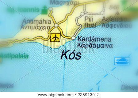 Kos Or Cos, A Greek Island (dodecanese Island)